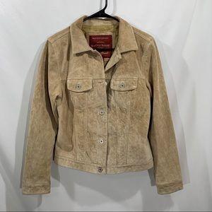 Eddie Bauer Women's Size XS Leather Jacket
